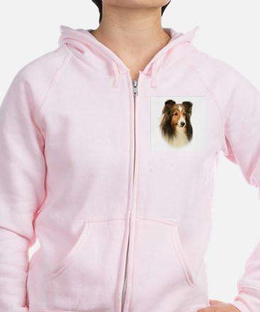 Timmy's Sheltie #2 Zip Hoody