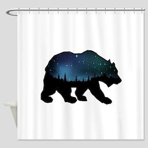 BEAR SKIES Shower Curtain