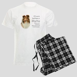 Timmy's Sheltie Men's Light Pajamas