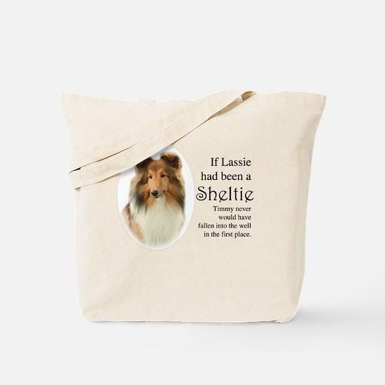 Timmy's Sheltie Tote Bag