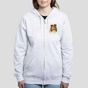 Timmy's Sheltie Women's Zip Hoodie