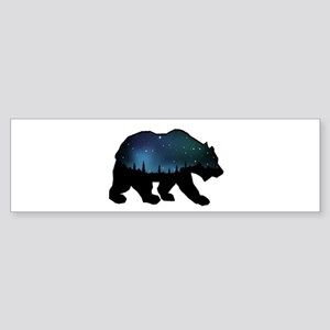 BEAR SKIES Bumper Sticker
