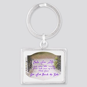 Subscription for Life Landscape Keychain