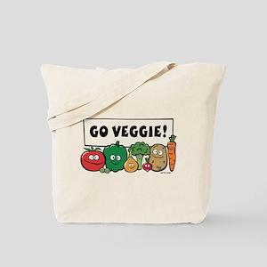 Go Veggie! Tote Bag