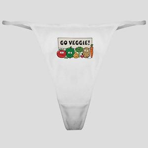 Go Veggie! Classic Thong