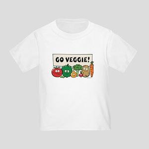 Go Veggie! Toddler T-Shirt