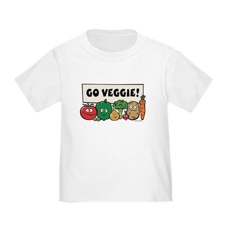 Go Veggie! Toddler T-Shirt