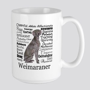 Weimaraner Traits Mugs