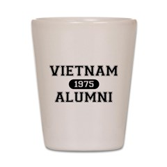 ALUMNI 1975 Shot Glass