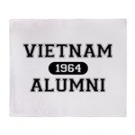 ALUMNI 1964 Throw Blanket