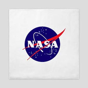 NASA Meatball Logo Queen Duvet