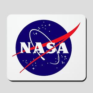 NASA Meatball Logo Mousepad