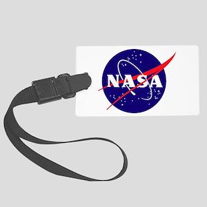 NASA Meatball Logo Large Luggage Tag