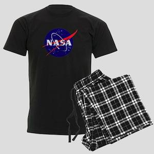 NASA Meatball Logo Men's Dark Pajamas