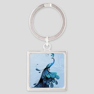 Elegant Peacock Keychains