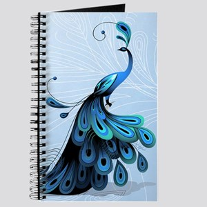 Elegant Peacock Journal
