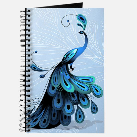 Elegant Peacock Journal
