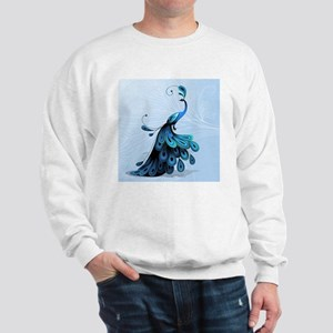 Elegant Peacock Sweatshirt