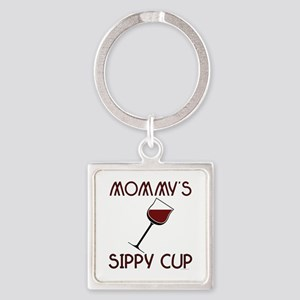 mommy's Square Keychain