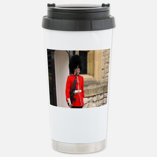 Queen's Guard Stainless Steel Travel Mug