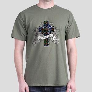 Fletcher Tartan Cross Dark T-Shirt