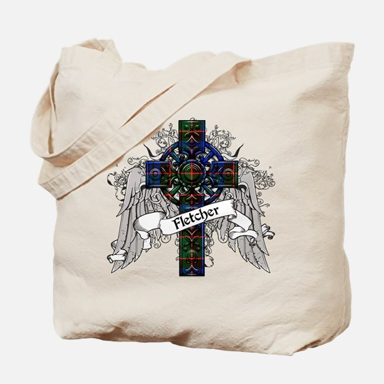 Fletcher Tartan Cross Tote Bag