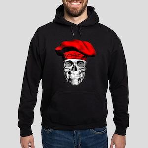 Red CHef Skull Hoodie