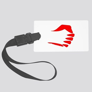 Vertical Fist Luggage Tag
