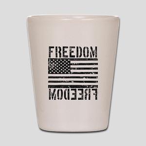 Freedom US Flag Shot Glass