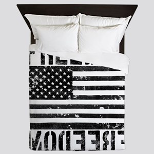 Freedom US Flag Queen Duvet