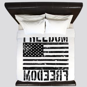Freedom US Flag King Duvet