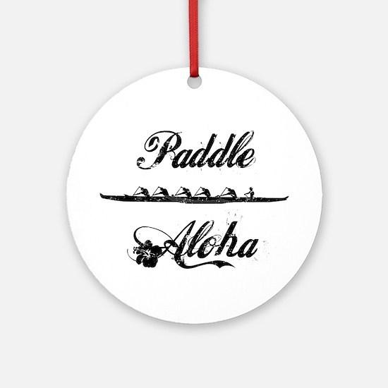 Paddle Aloha Kane Ornament (Round)