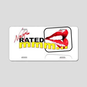 Rated Mmm Logo Aluminum License Plate