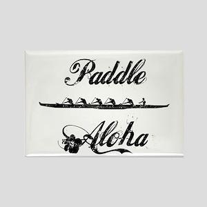 Paddle Aloha Kane Rectangle Magnet