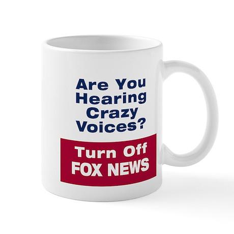 Turn Off Fox News Mugs