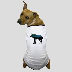 WOLF NIGHTLY Dog T-Shirt