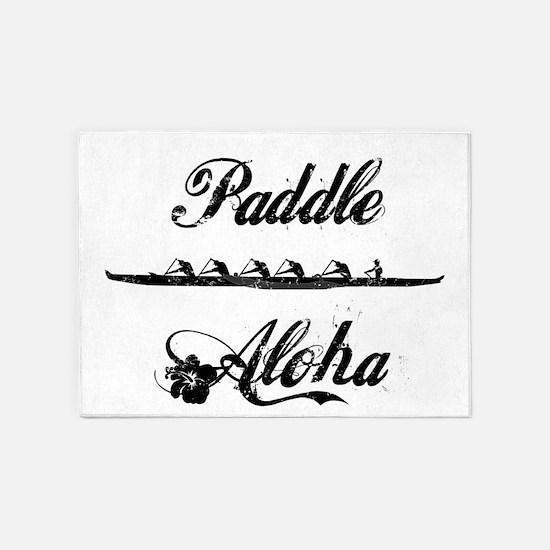 Paddle Aloha Kane 5'x7'Area Rug