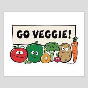Go Veggie! Small Poster