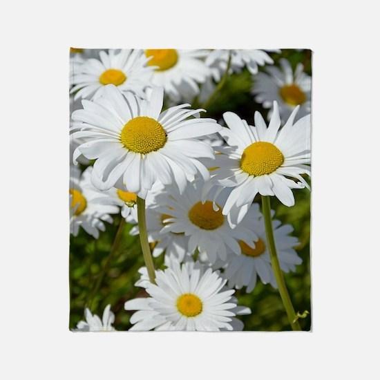 Cute Gerber daisy Throw Blanket