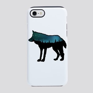 WOLF NIGHTLY iPhone 7 Tough Case