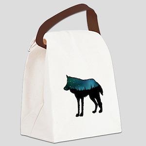 WOLF NIGHTLY Canvas Lunch Bag