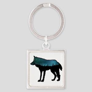 WOLF NIGHTLY Keychains