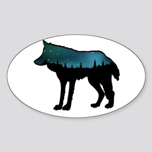 WOLF NIGHTLY Sticker