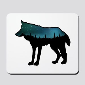 WOLF NIGHTLY Mousepad