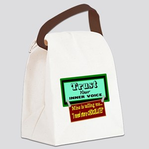 Trust Inner Voice Canvas Lunch Bag