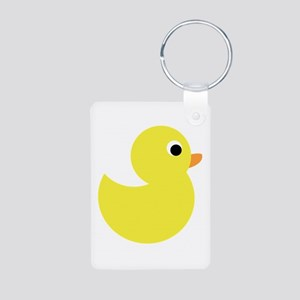 Yellow Rubber Duck Keychains