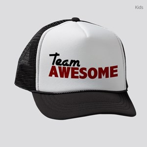 team awesome Kids Trucker hat