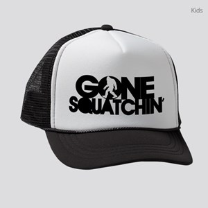 Gone Squatchin Cap Kids Trucker hat
