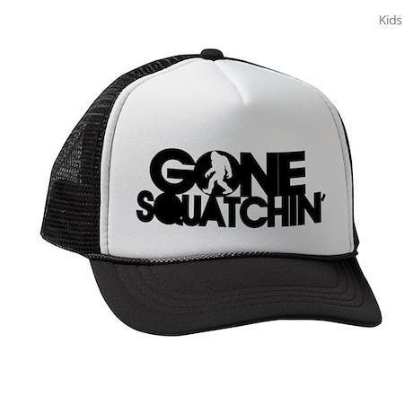 Gone Squatchin Cap Kids Trucker hat
