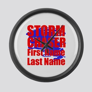 Storm Chaser Large Wall Clock